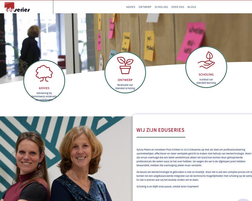 Onze nieuwe site is online!